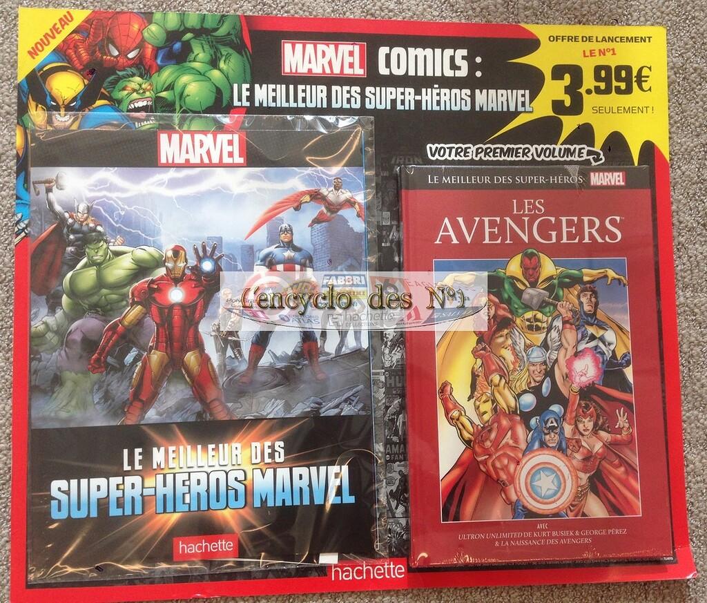 LE MEILLEUR DES SUPER HÉROS MARVEL (Hachette) Hachette