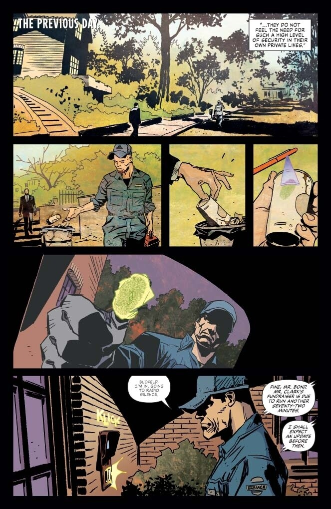 James Bond Agent of Spectre #22
