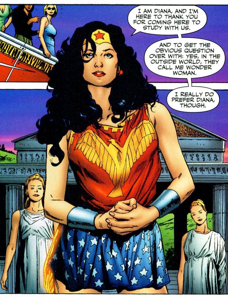 JLA Classified - Wonder Woman's clothes 01