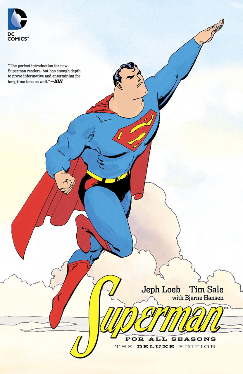 superman-for-all-seasons-comics-volume-1-tpb-hardcover-cartonnee-the-deluxe-edition-277739