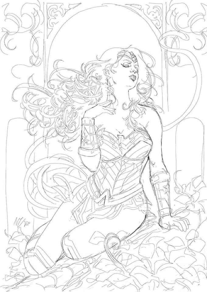 Wonder Woman by Vicente Cifuentes 0