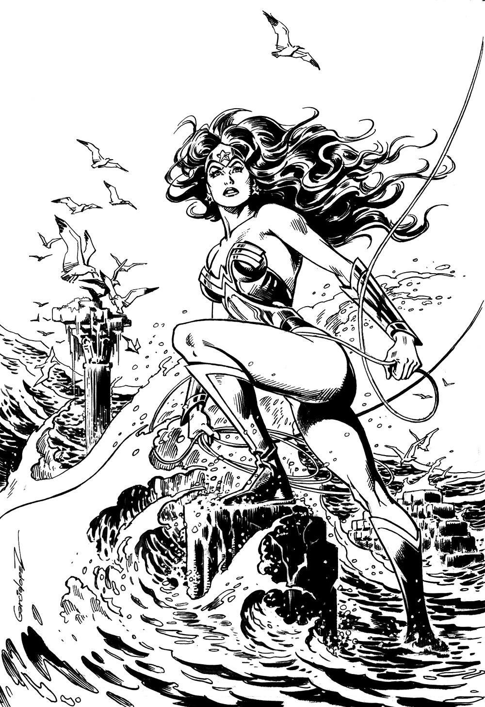 Jose Luis Garcia Lopez - Wonder Woman