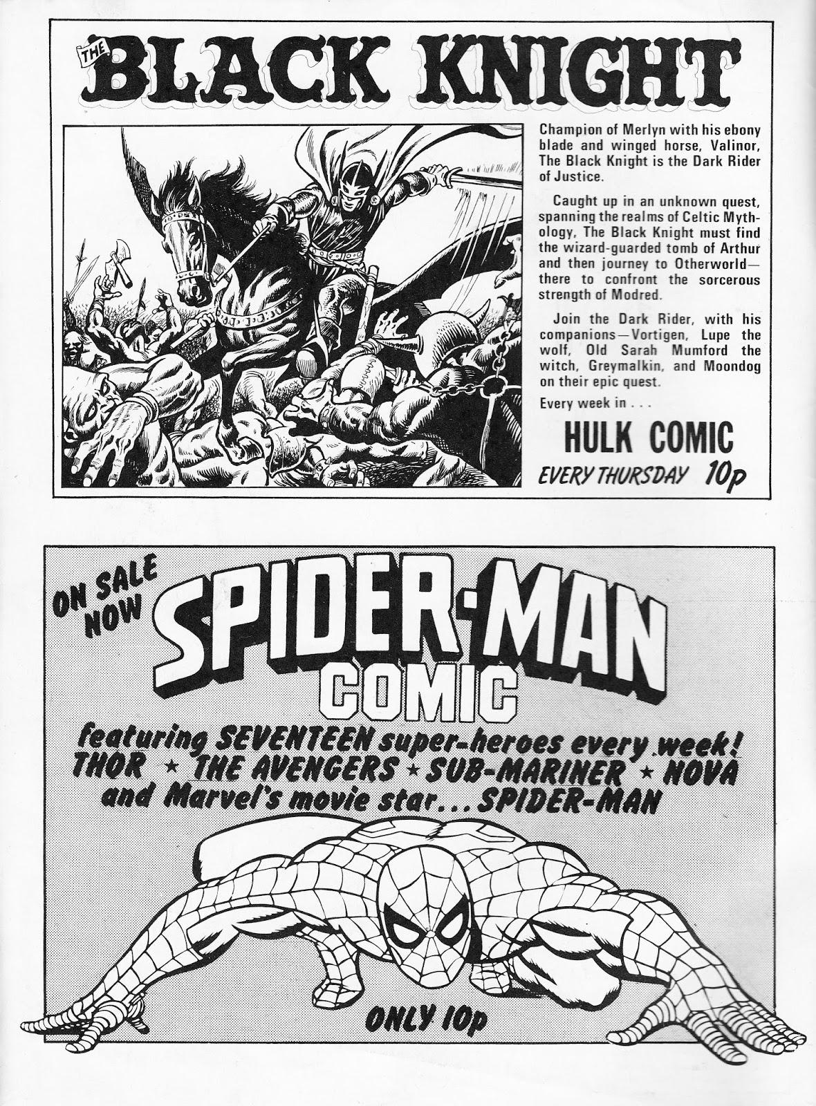SPIDER-MAN HOUSE AD