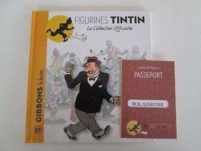 Tintin-Gibbons-La-Brute-Collection-Officielle-Ttbe-Sans