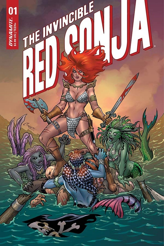 The Invincible Red Sonja #1a