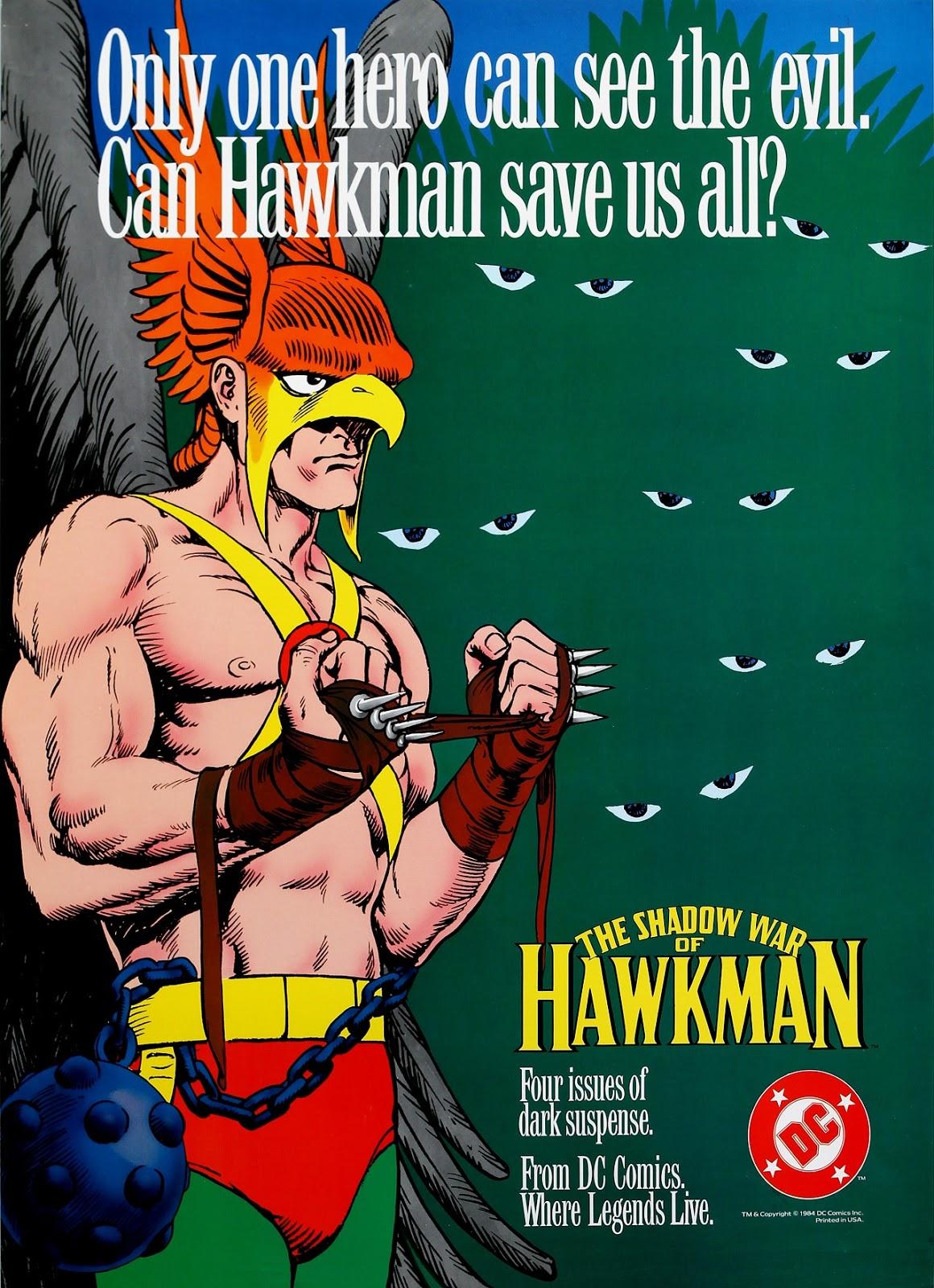 The_Shadow_War_of_Hawkman house ad