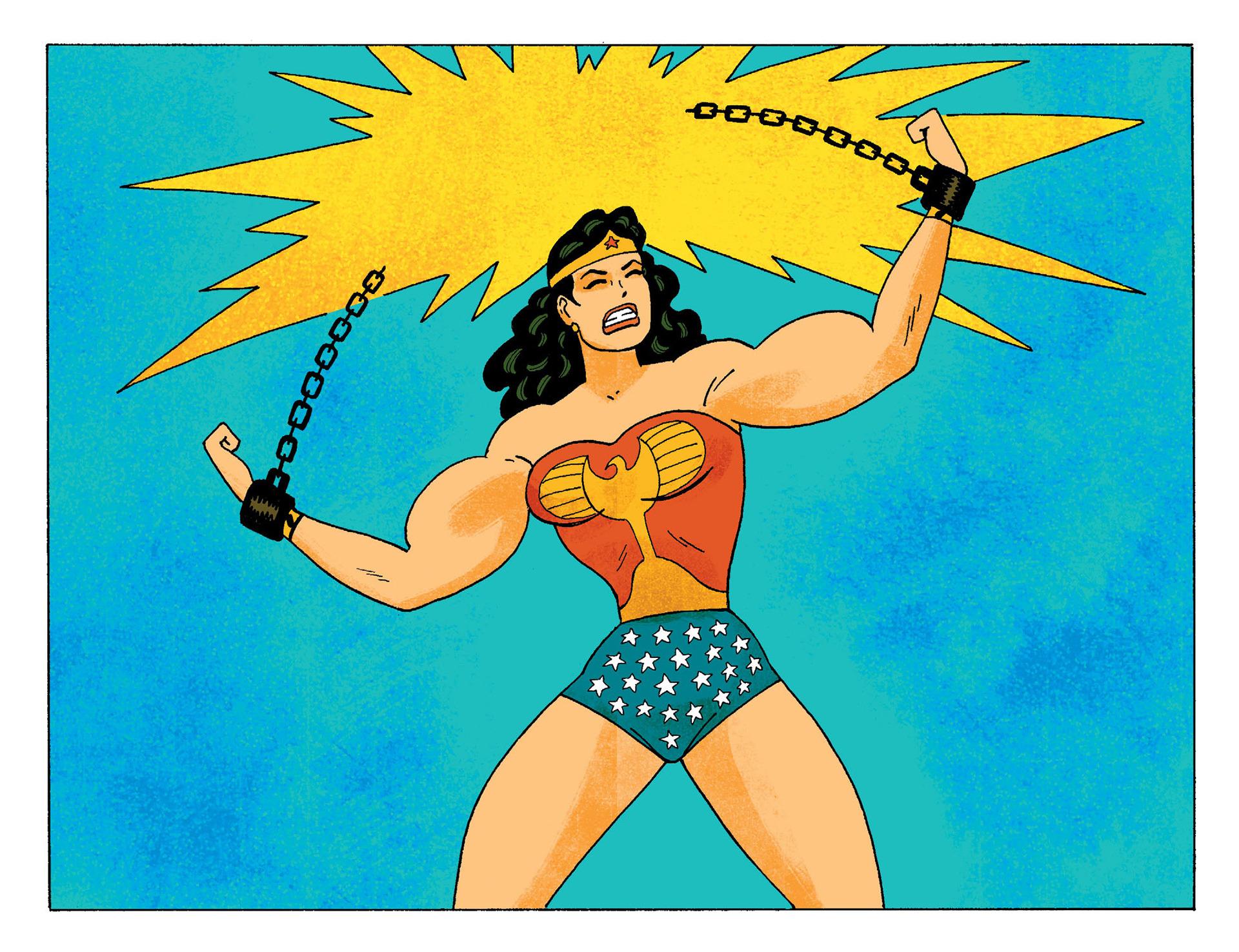 Wonder Woman by Gilbert Hernandez
