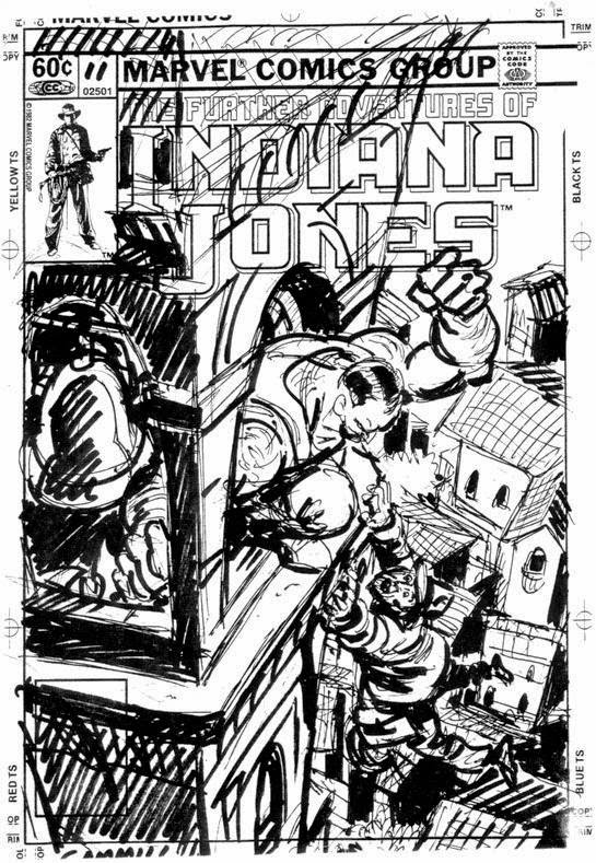Indiana Jones #11A by Kerry Gammill 1983