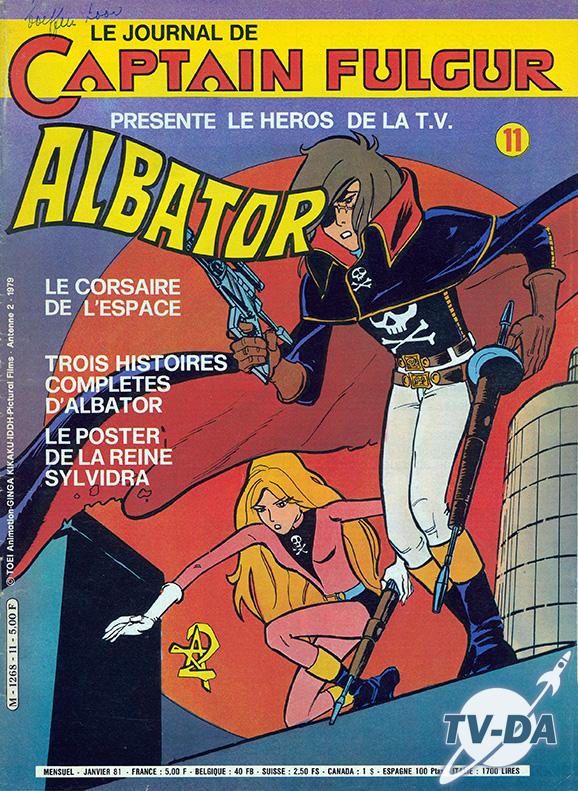 Livre Captain Fulgur n°11