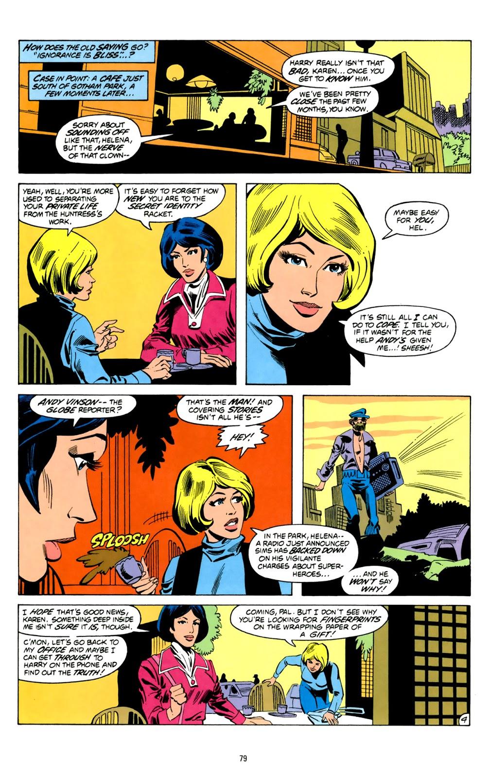 Huntress TPB Page 079