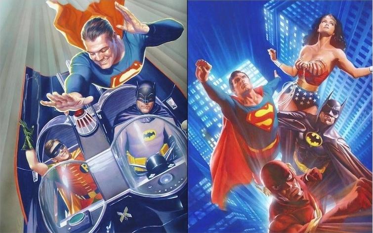 la prédominance de stars de DC sur les adaptations du 20ème siècle