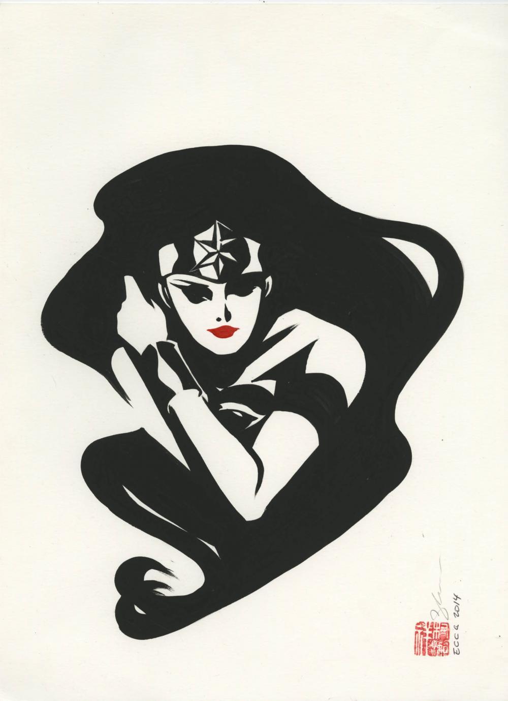 Wonder Woman by Sho Murase