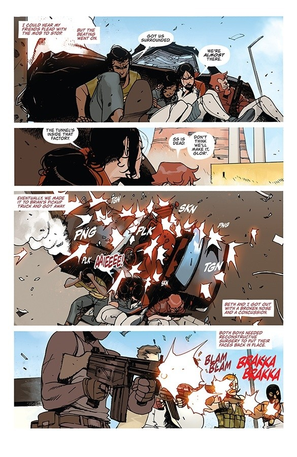 DEATH OR GLORY #1-11 (Rick Remender / Bengal) - #9 par KabFC - Image Comics  - Sanctuary