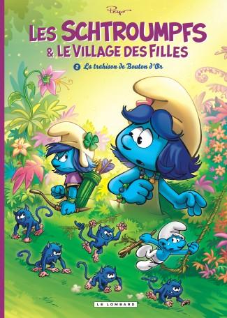 schtroumpfs-et-village-filles-tome-2-trahison-bouton-d-or