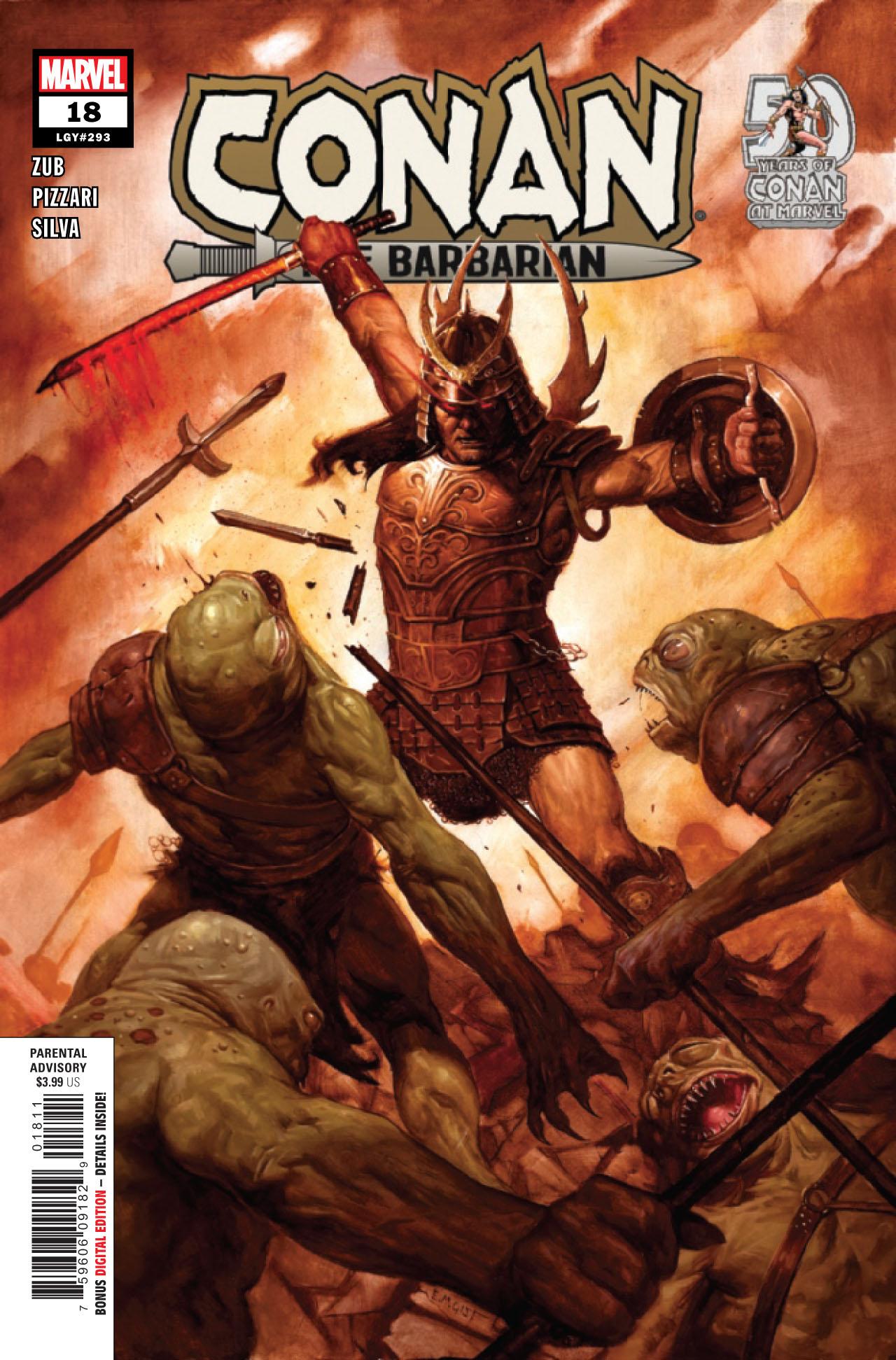 Conan the Barbarian #18a