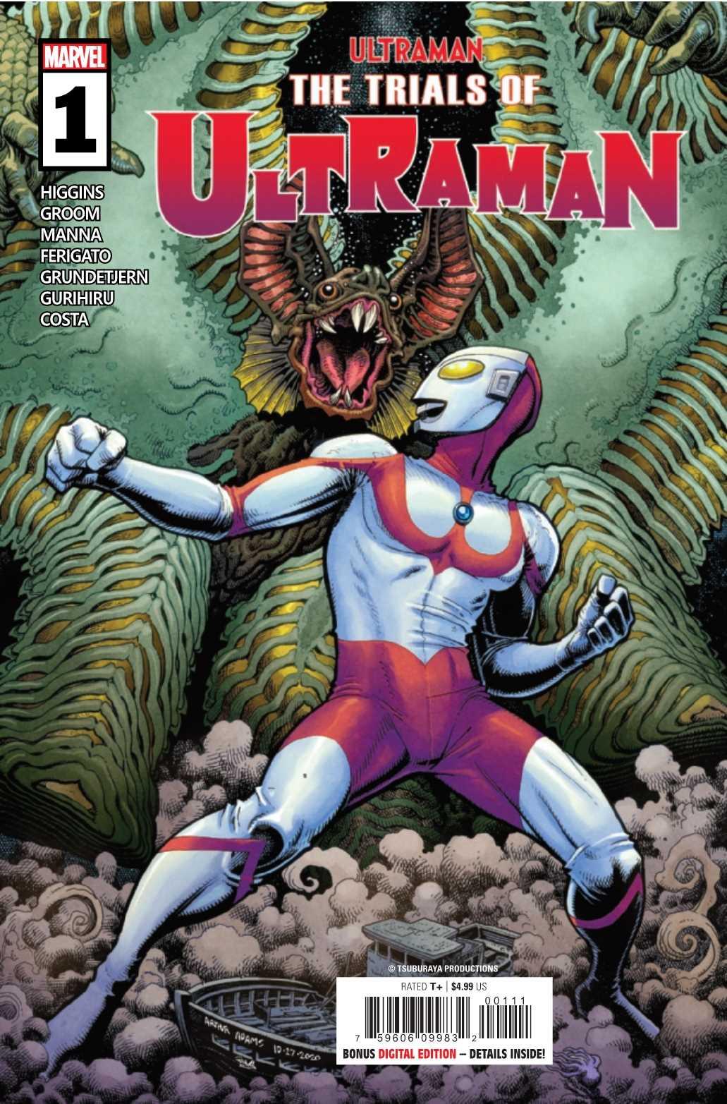 The Trials of Ultraman #1a