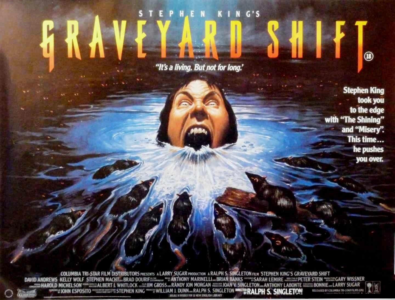 Graveyard Shift quad poster
