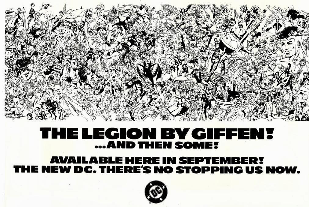 The Legion by Giffen 1983