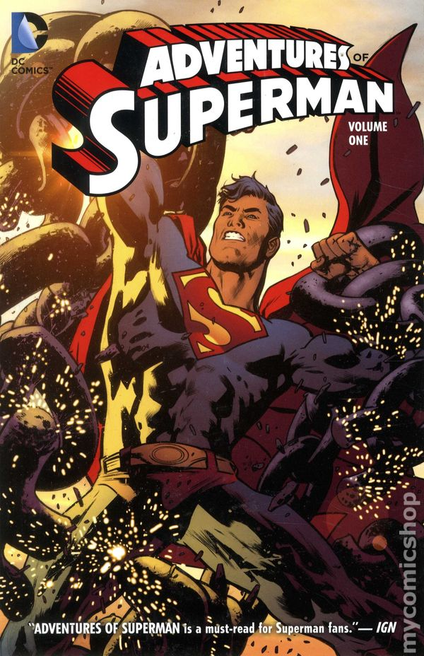 the-adventures-of-superman-comics-volume-1-tpb-softcover-souple-issues-v2-214507