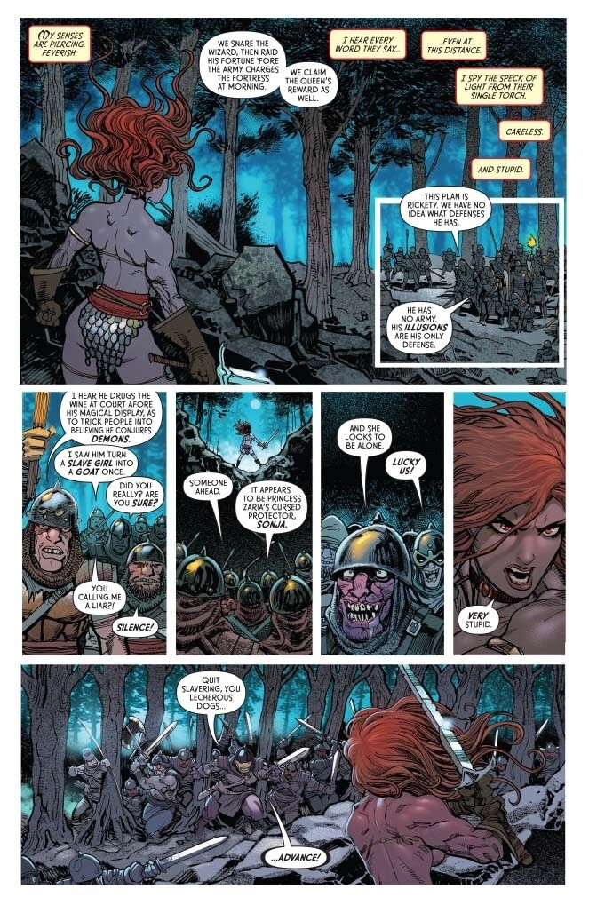 The Invincible Red Sonja #12