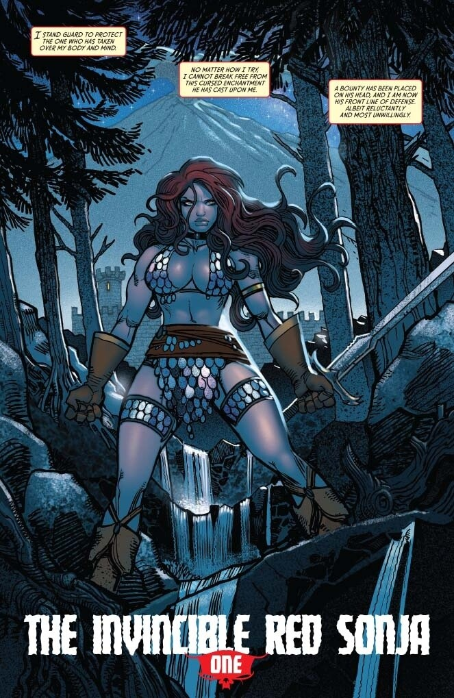 The Invincible Red Sonja #11