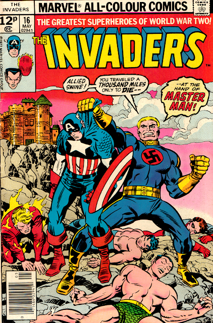 Invaders no16 - Cover