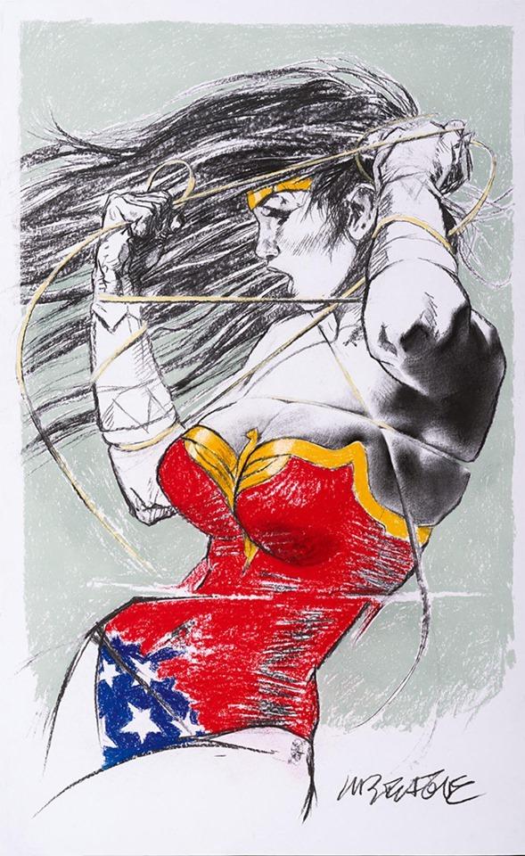 Wonder Woman by Tanino Liberatore