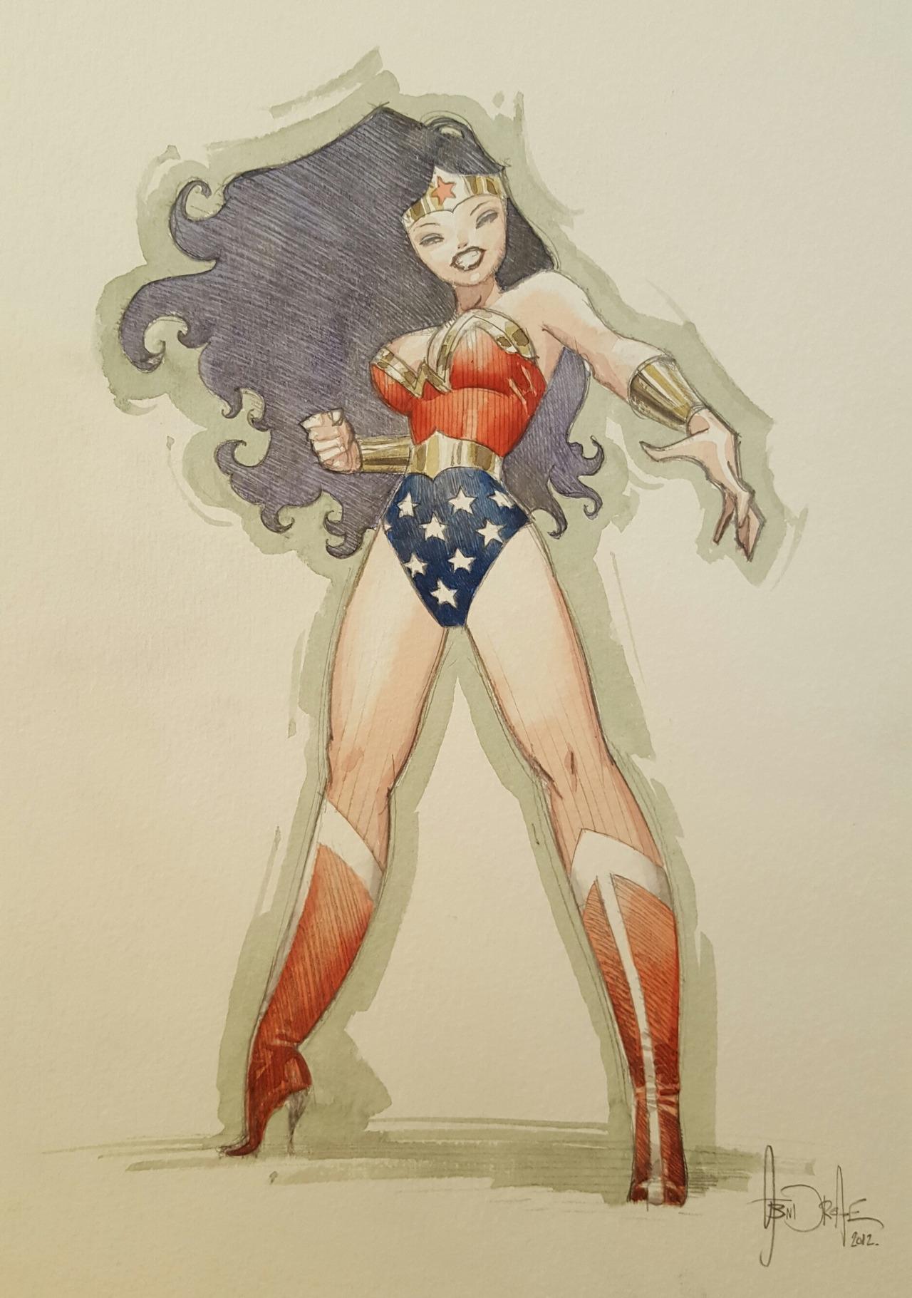 Wonder Woman par Andreae