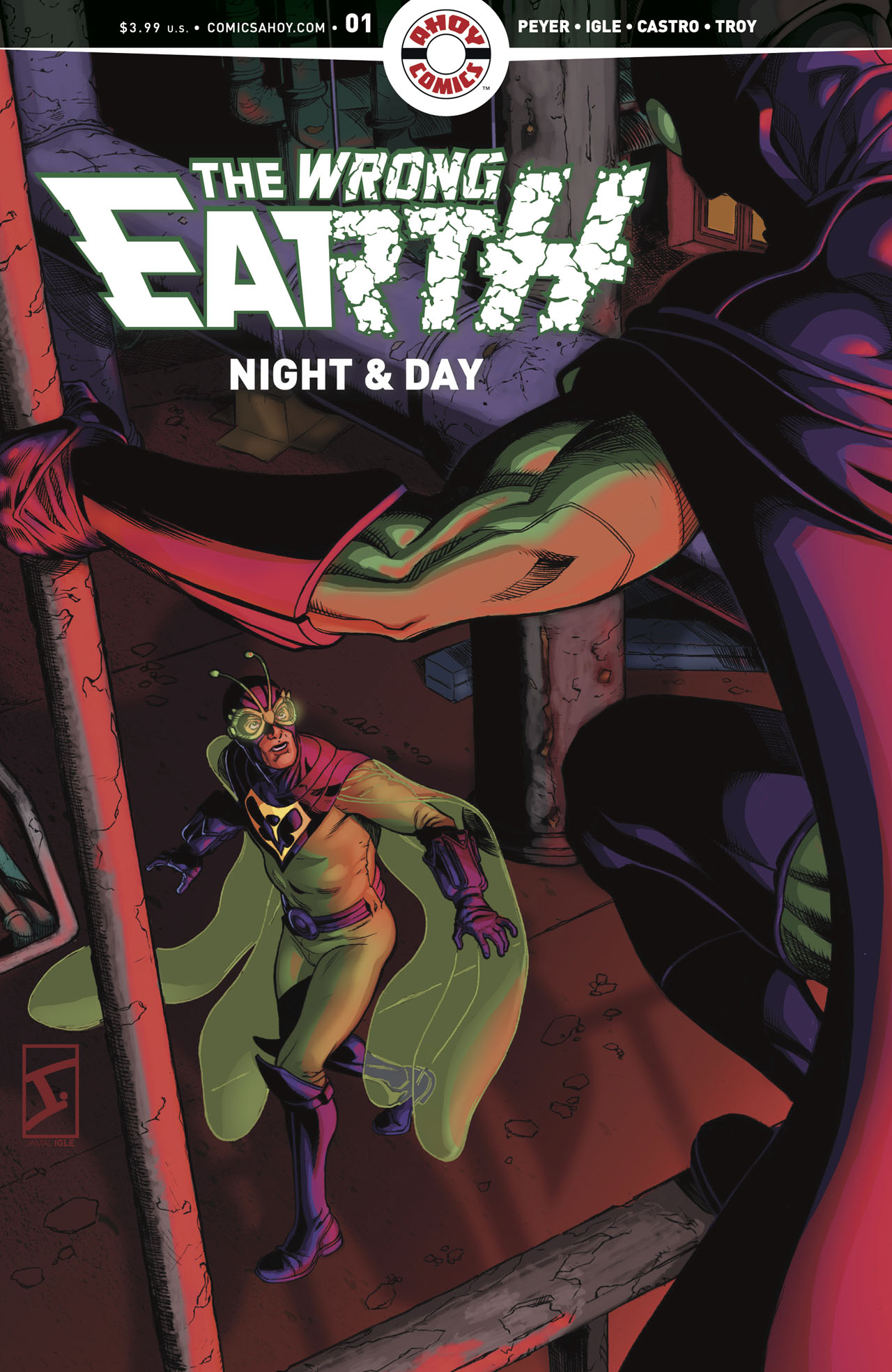 The Wrong Earth Night & Day #1c
