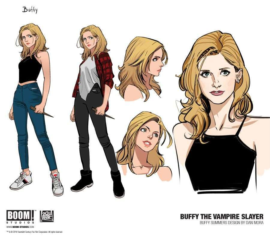 buffyvampireslayer-001-characterdesign-buffy-promo-1146803