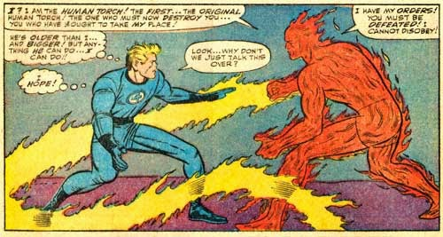 human torch ff annual