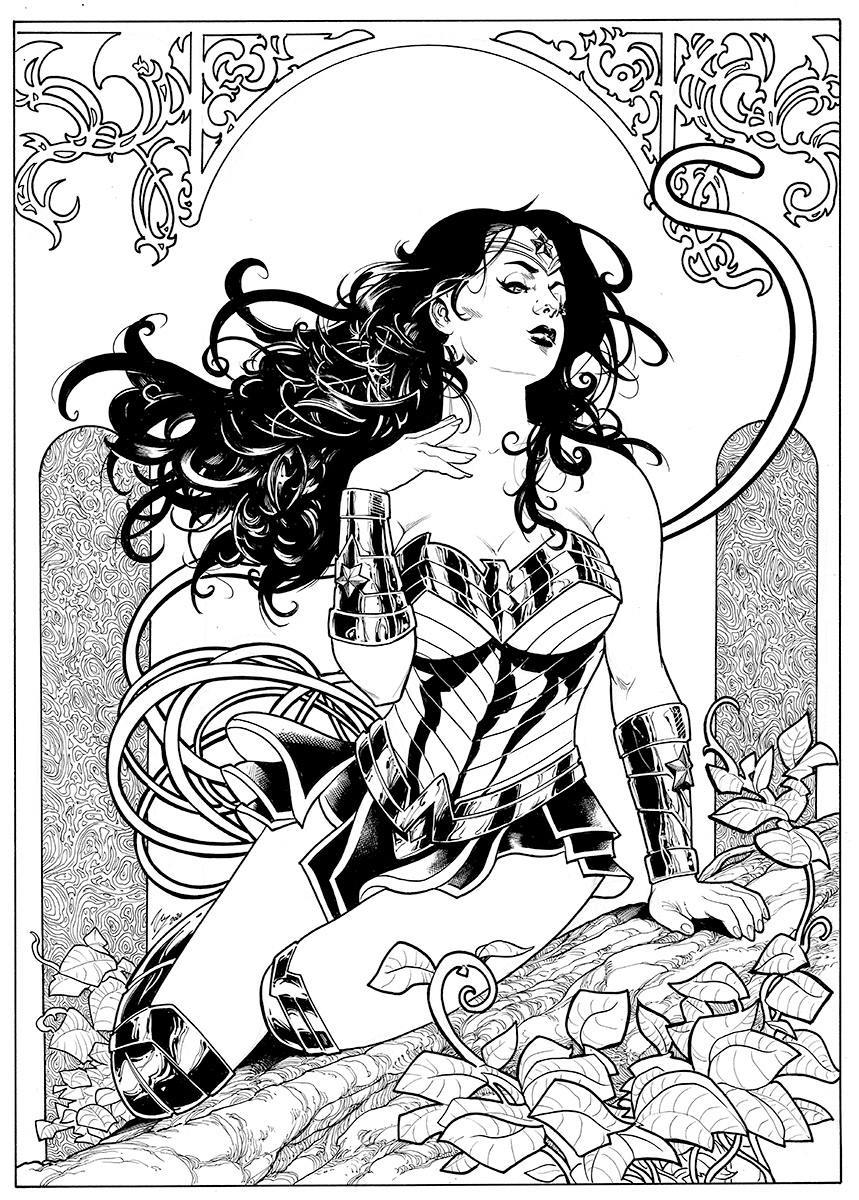 Wonder Woman by Vicente Cifuentes 1