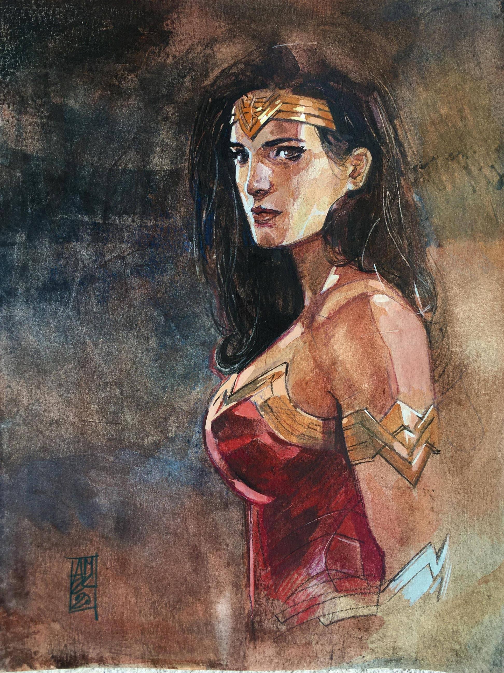 Wonder Woman by Alex Maleev