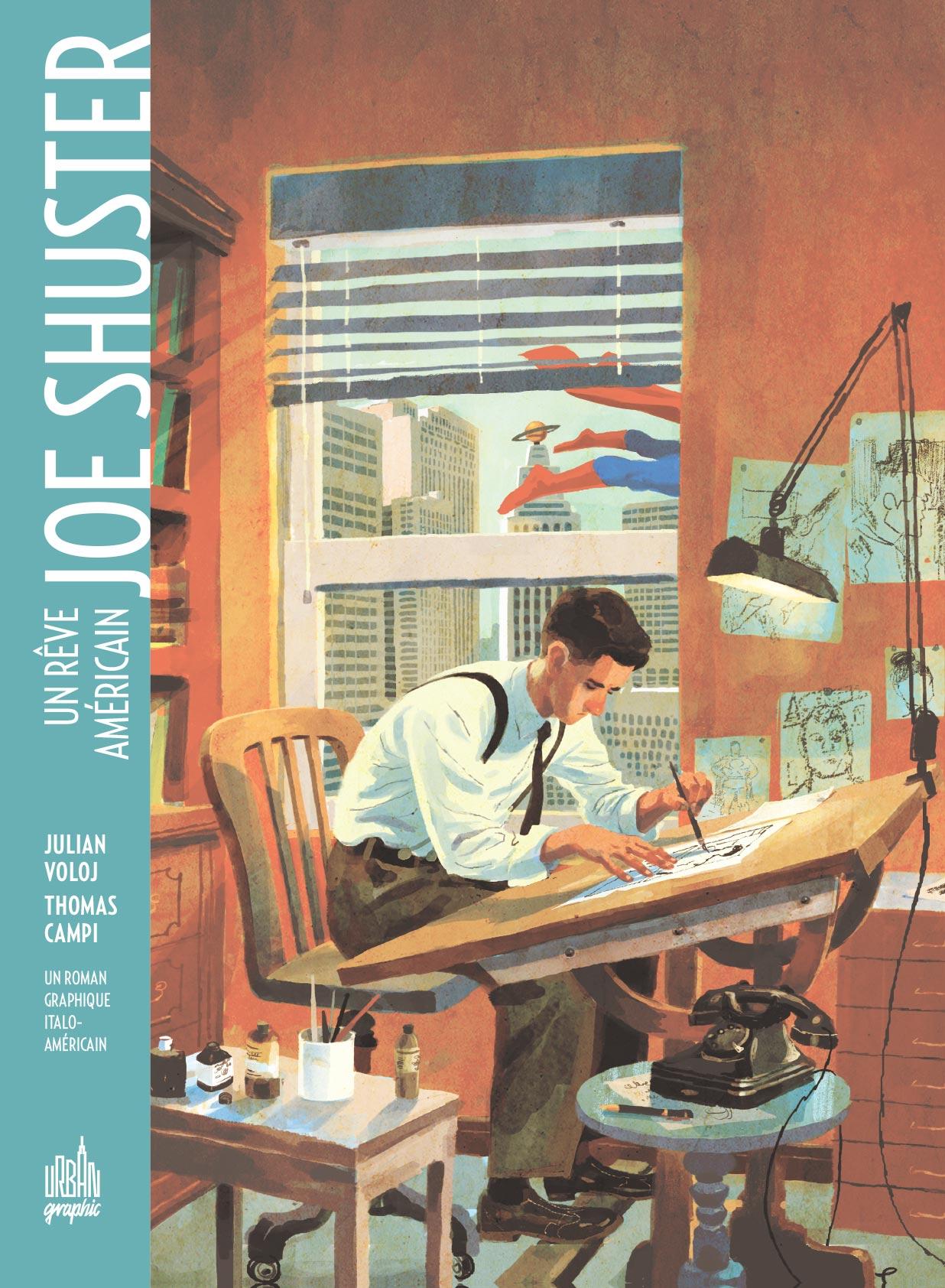 joe-shuster-comics-volume-1-tpb-hardcover-cartonnee-306642