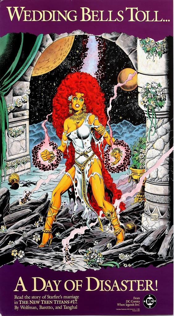 1985 - New Teen Titans Wedding