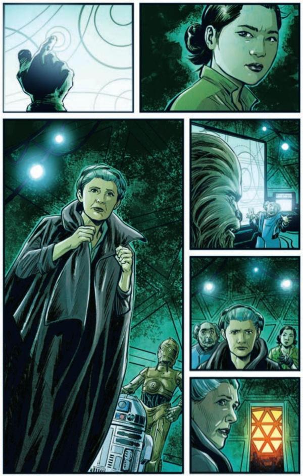 Journey To Star Wars The Rise Of Skywalker Allegiance 1 4 Ethan Sacks Luke Ross Marvel Sanctuary