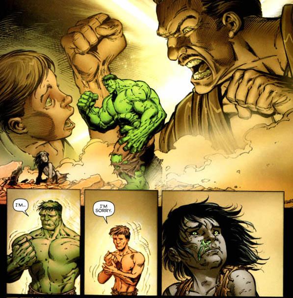 Incredible Hulk #611 - fatherson1