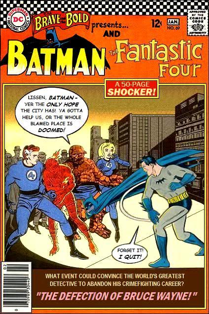 Batman and the Fantastic Four (Retro)