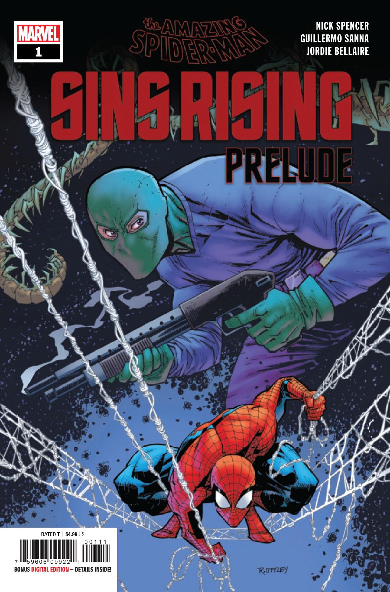 Amazing Spider-Man Sins Prelude #1a