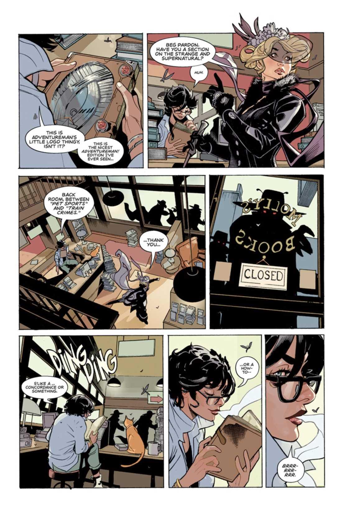 ADVENTUREMAN #1-4 (Matt Fraction / Terry Dodson) - Image Comics - Sanctuary