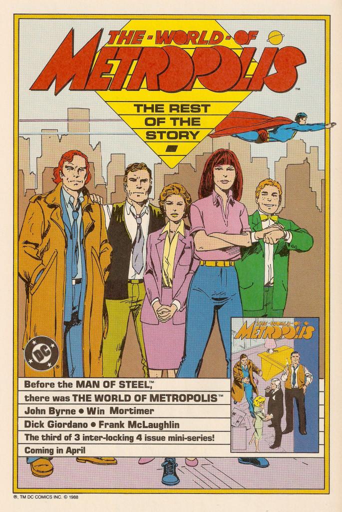 1987 - World of Metropolis