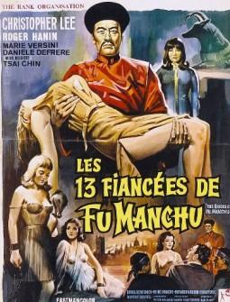 affiche-les-13-fiancees-de-fu-manchu-1784