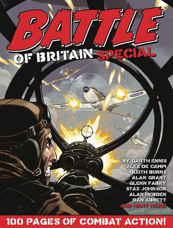 Garth Ennis & Glenn Fabry's Battle Of Britain in Rebellion Solicits .
