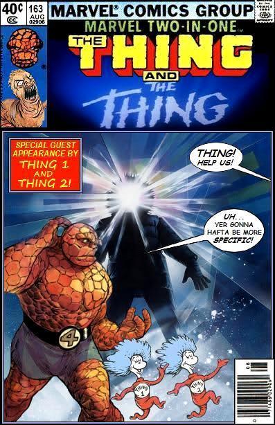 Super-Team Family - Thing, Thing, Thing 1, Thing 2