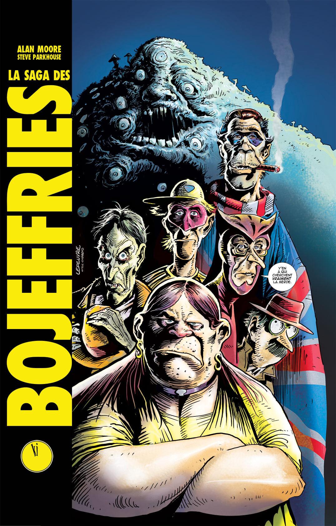 LA SAGA DES BOJEFFRIES (Alan Moore / Steve Parkhouse) - Komics Initiative - Sanctuary