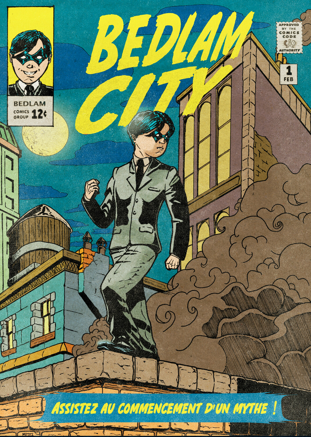 Bedlam City #1 Cover old (Basse déf)