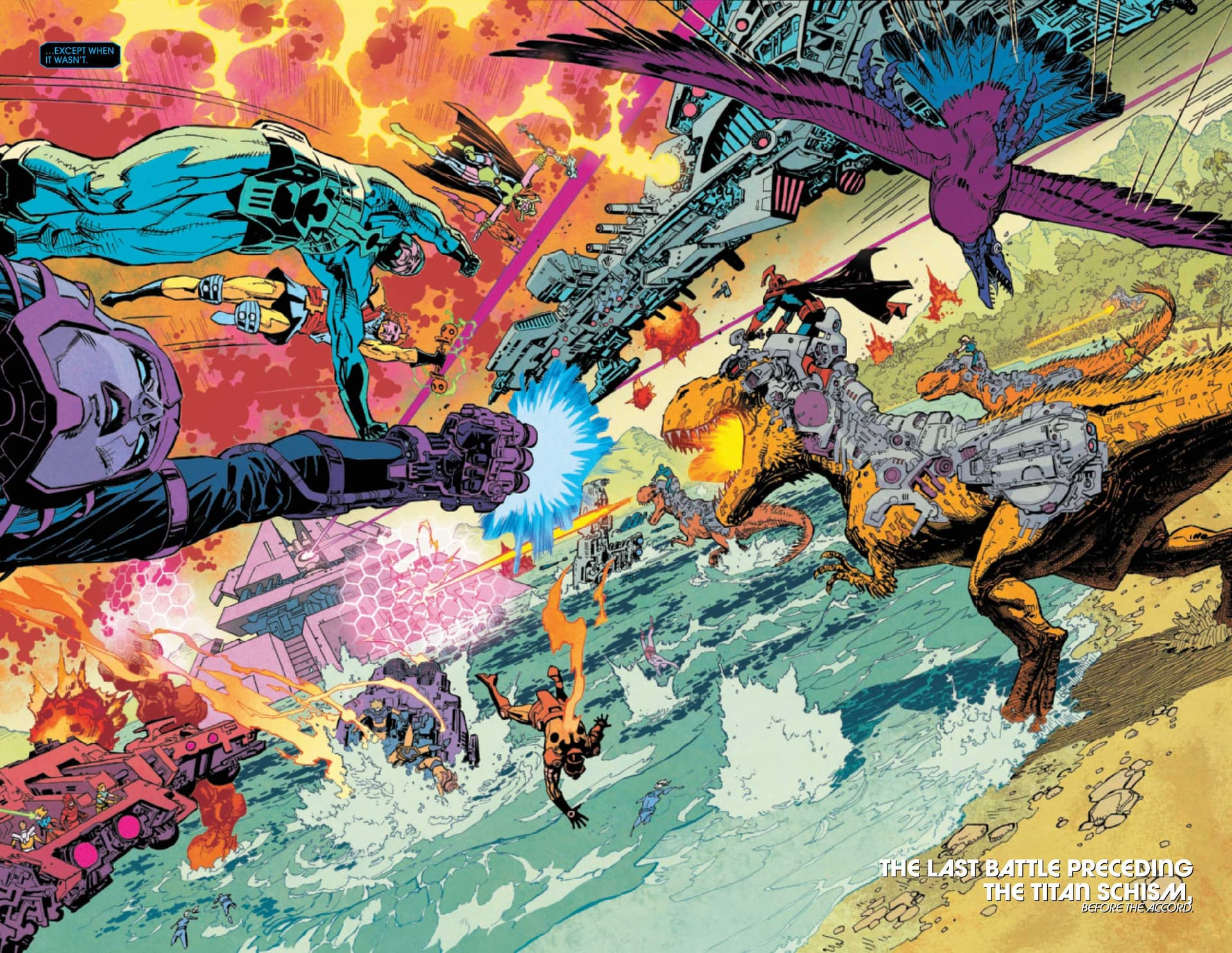 Eternals Thanos Rises #1b
