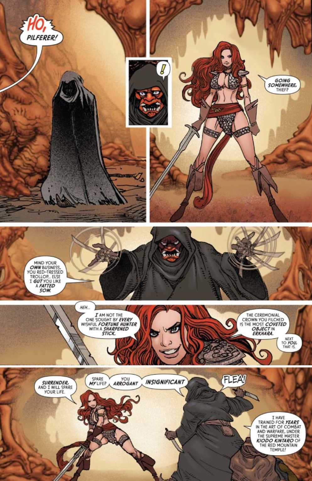 INVINCIBLE RED SONJA #42