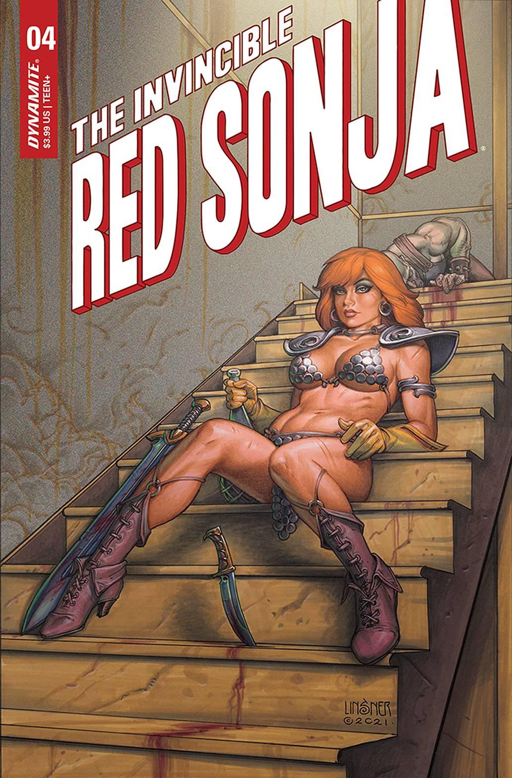INVINCIBLE RED SONJA #4b