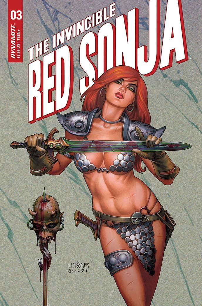 INVINCIBLE RED SONJA #3b